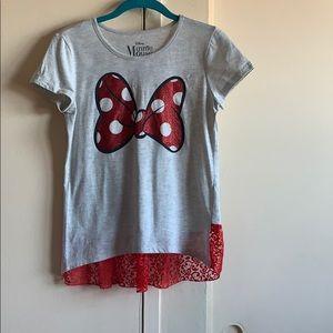 A children's Minnie Mouse shirt